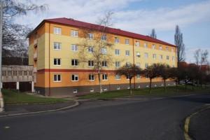 Budova 1 - zadní pohled